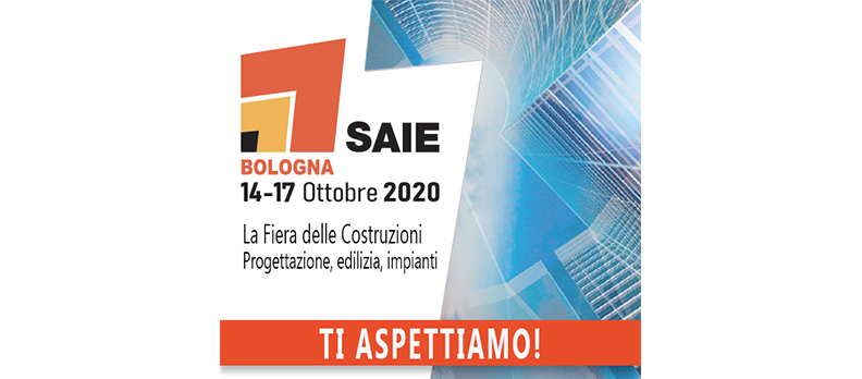 SAIE 2020: Unical confirms the appointment at the Bologna trade fair from 14 to 17 October